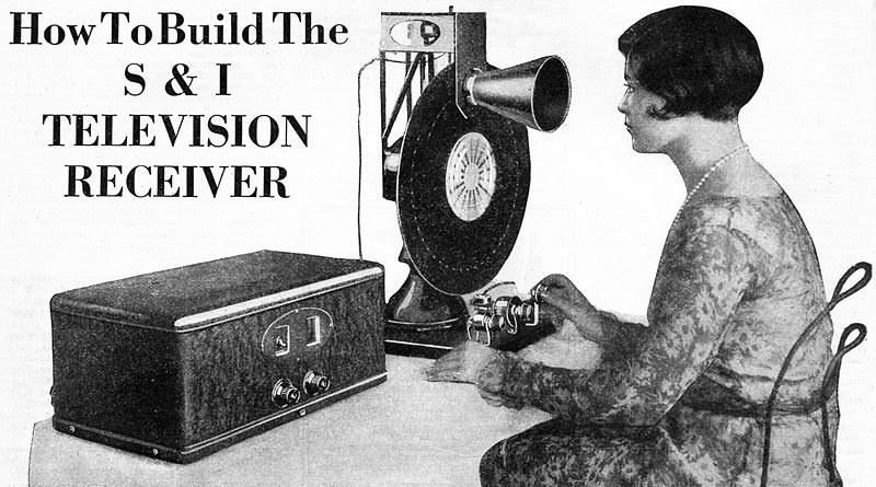 Telewizor mechaniczny - wynalazek korzystający z tarczy Nipkowa /materiały prasowe
