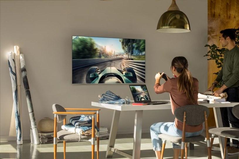 Telewizor Samsunga z rodziny NU 80XX /materiały prasowe