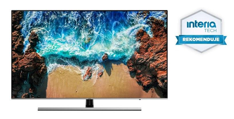 Telewizor UHD Samsung NU8072T otrzymał REKOMENDACJĘ serwisu Nowe Technologie /INTERIA.PL