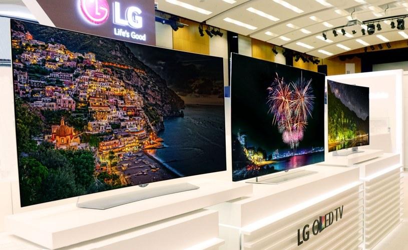 Telewizory LG OLED EF9500,  55EG9200 oraz 55EG9100 /materiały prasowe