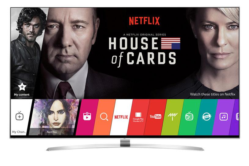 Telewizory LG otrzymały rekomendację Netfliksa /materiały prasowe