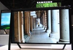 Telewizory Samsunga z CES 2013 na wideo