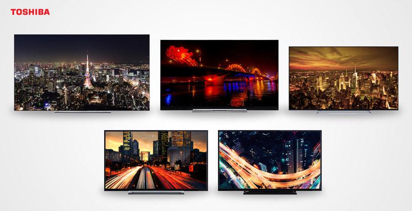 Telewizory Toshiba Entry, Smart Series, U67, U77 i X97 OLED /materiały prasowe