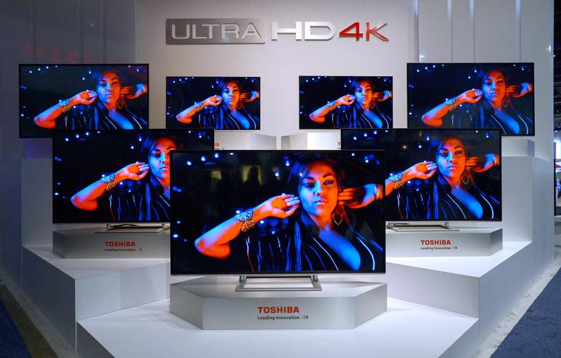 Telewizory Ultra HD sprzedają się coraz lepiej /AFP