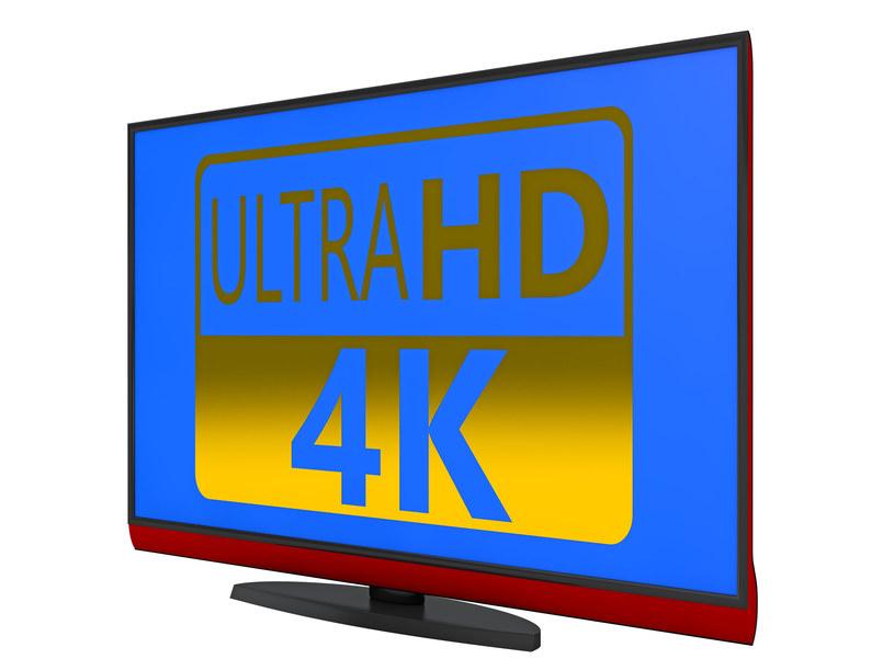 Telewizory Ultra HD stają się powoli coraz bardziej popularne /123RF/PICSEL