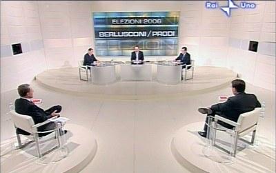 ...telewizyjna debata Berlusconi-Prodi? /AFP