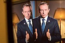 Telewizyjne wystąpienie marszałka Senatu. Rzeczniczka PiS komentuje