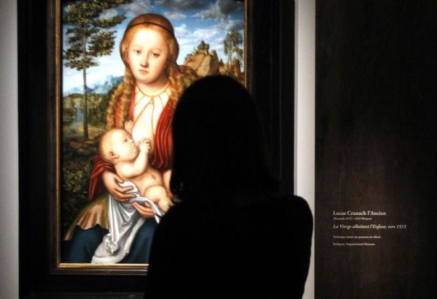 Temat Madonny z Dzieciątkiem bardzo często pojawia się w twórczości Lucasa Cranacha Starszego /AFP