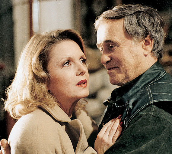 Temperamentna Dorota także znalazła sobie kochanka, rzeźbiarza Adama (Jan Nowicki) /PAT /Świat Seriali
