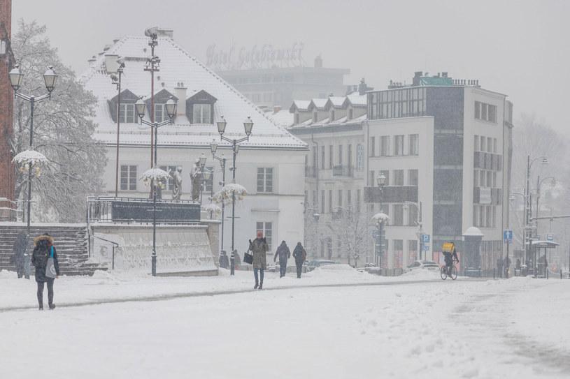 Temperatury spadną nawet do -20 st. Celsjusza /Wojciech Wojtkielewicz/Polska Press/East News /East News