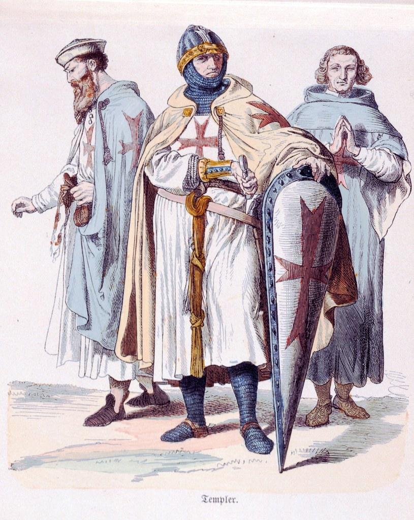 """""""Templariusze"""", aut. Münchener Bilderbogen (1870) /East News"""