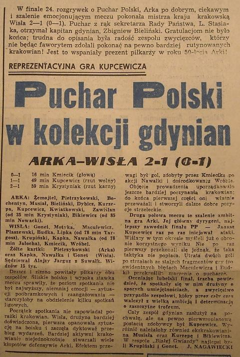 """""""Tempo"""" z 10.05.1979 r. - Historia Wisły /"""