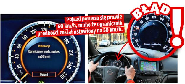Tempomat i ogranicznik prędkości /Motor