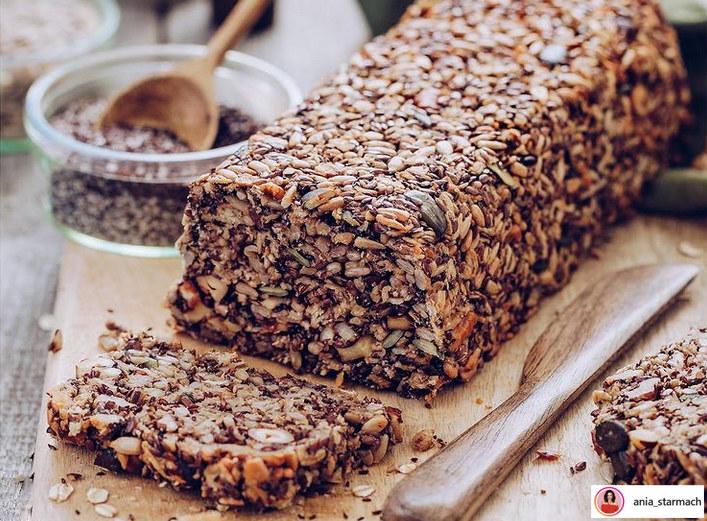 Ten chleb przygotujesz bez mąki i zakwasu - jest pyszny! /@ania_starmach /Instagram