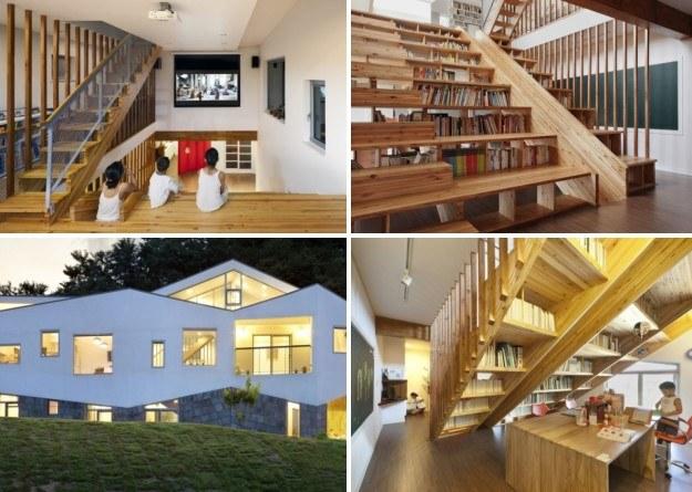 Ten dom zaprojektował architekt Moon Hoon /moonhoon.com /.