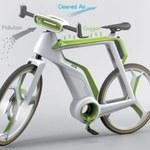 Ten rower oczyści powietrze dla swojego kierowcy