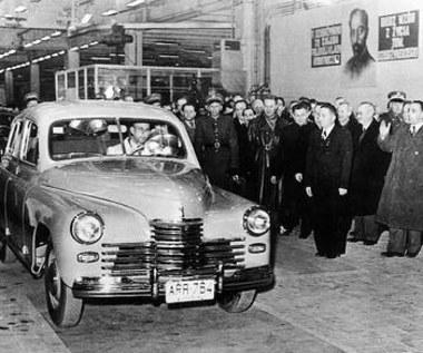 Ten samochód był darem Stalina...