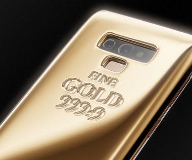 Ten Samsung Galaxy Note 9 ma na sobie kilogram złota