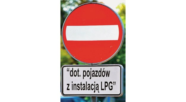 Ten znak, mimo że jest nielegalny jest często stosowany. /Motor
