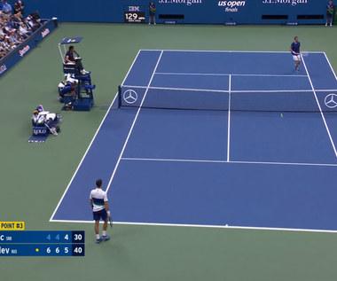 Tenis. 2021 US Open. Novak Djoković - Daniił Miedwiediew. Skrót meczu. Wideo