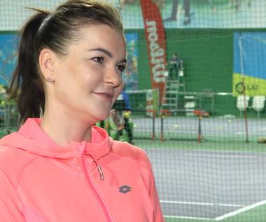 Tenis. Agnieszka Radwańska: Dziecko sprawia mi dużo radości. Wideo