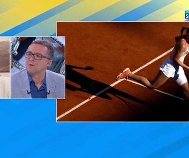 Tenis. Alicja Rosolska: Iga Świątek miała trochę szczęścia. Warunki były po jej stronie (POLSAT SPORT). WIDEO