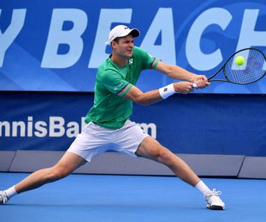 Tenis. ATP w Delray Beach. Hubert Hurkacz awansował do finału