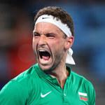 Tenis. Dimitrow: Koronawirus mnie zniszczył, nie jestem w stanie grać