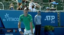 Tenis. Hubert Hurkacz - Daniel Elahi Galan 6:2, 6:2. Skrót meczu (POLSAT SPORT). Wideo