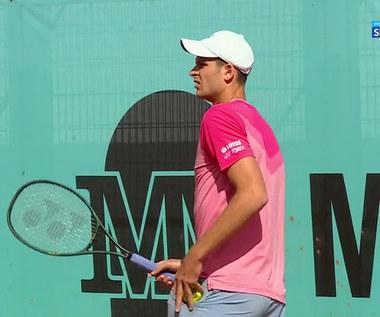 Tenis. Hubert Hurkacz - John Millman 1:2 - skrót meczu (POLSAT SPORT). WIDEO
