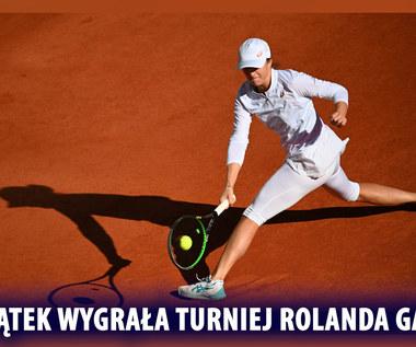 Tenis. Iga Świątek wygrała turniej Rolanda Garrosa! Wideo