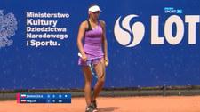 Tenis. Joanna Zawadzka – Magdalena Fręch 0:2. Skrót meczu (POLSAT SPORT) Wideo