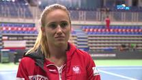 Tenis. Katarzyna Kawa: Jestem gotowa do gry (POLSAT SPORT). Wideo