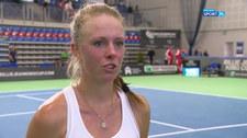 Tenis. Magdalena Fręch: Mam nadzieję, że w sobotę zagram cały mecz odważnie (POLSAT SPORT). Wideo
