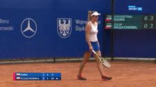 Tenis: Mistrzostwa Polski. Katarzyna Kawa – Julia Oczachowska 2:0. Skrót meczu (POLSAT SPORT) Wideo