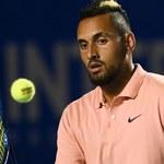 """Tenis. Nick Kyrgios tym razem w """"pyskówce"""" z Dominikiem Thiemem"""