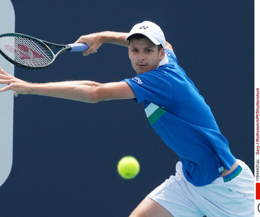 Tenis. Turniej ATP w Rzymie. Hubert Hurkacz poddał mecz z Lorenzo Musettim