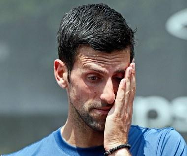 Tenis. Upadek Novaka Djokovicia