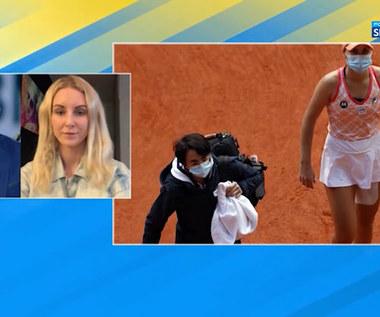 Tenis. Urszula Radwańska: Bardzo przeżywałam każdy mecz Igi Świątek (POLSAT SPORT). WIDEO
