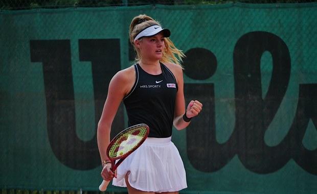 Tenisistka Martyna Kubka: To był trudny sezon na debiut w seniorskim tenisie