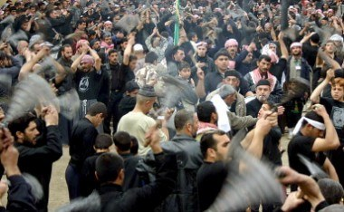 Tens of thousands of Shiites commemorated their most important  holiday of Ashura in Baghdad, /AFP