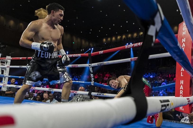 Teofimo Lopez słynie z potężnego ciosu /Getty Images