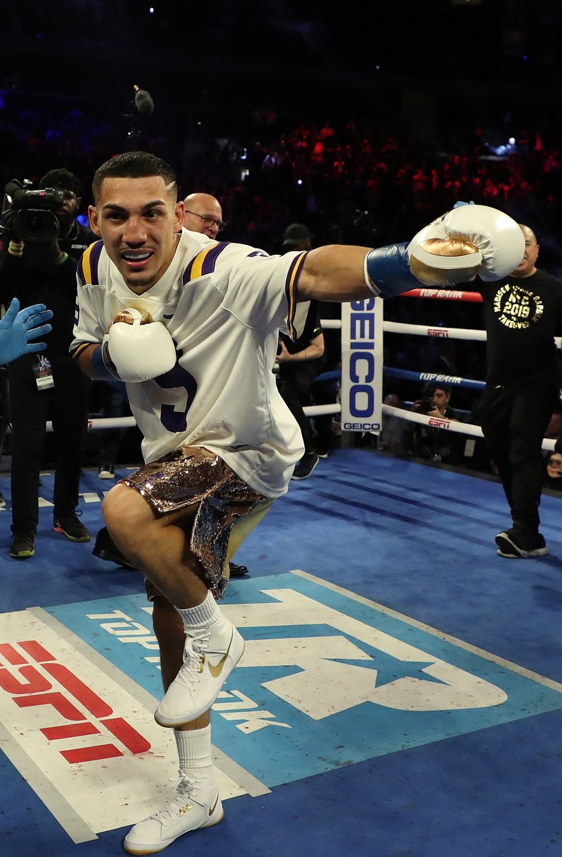Teofimo Lopez triumfuje /AFP