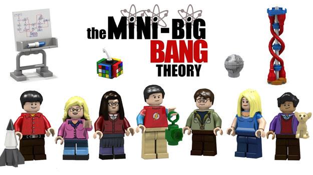 """""""Teoria wielkiego podrywu"""" w wersji LEGO /ideas.lego.com /internet"""