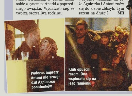 Teraz aktorka spotyka się z Antonim Pawlickim /- /Życie na gorąco