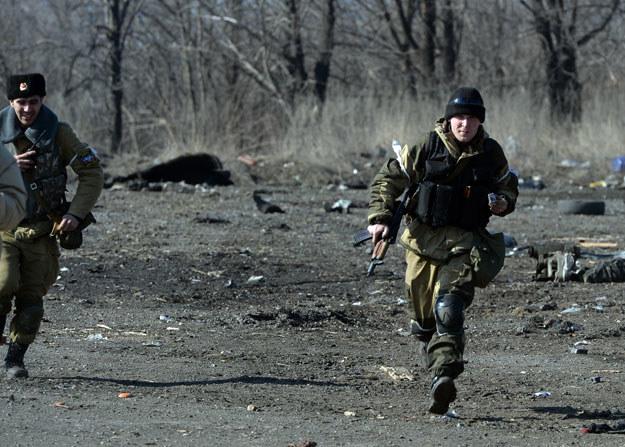 """""""Teraz uruchamiany jest plan B"""" fot. Vasily Maximov /AFP"""