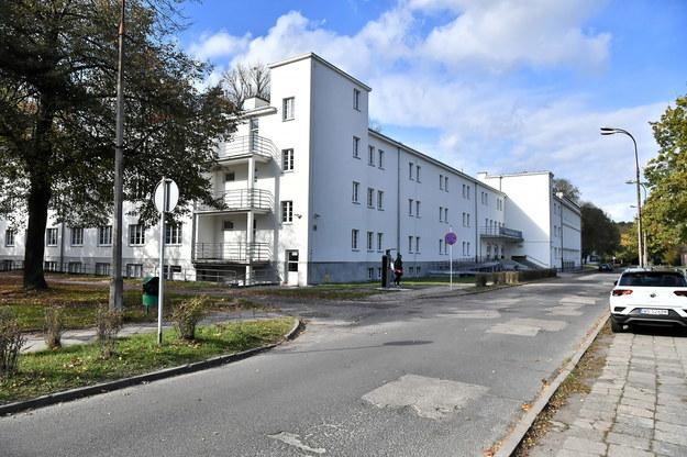 Teren Akademii Wychowania Fizycznego przy ulicy Marymonckiej w Warszawie /Andrzej Lange /PAP