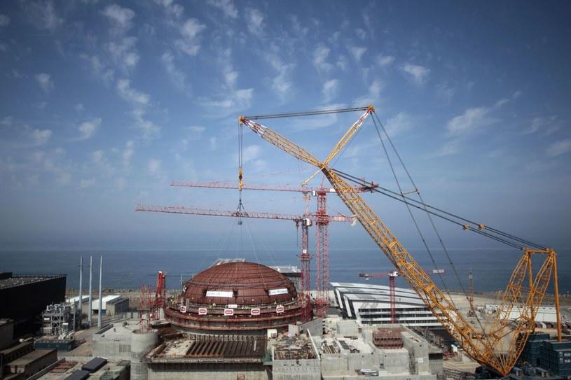 Teren budowy elektrowni atomowej w Flamanville /AFP
