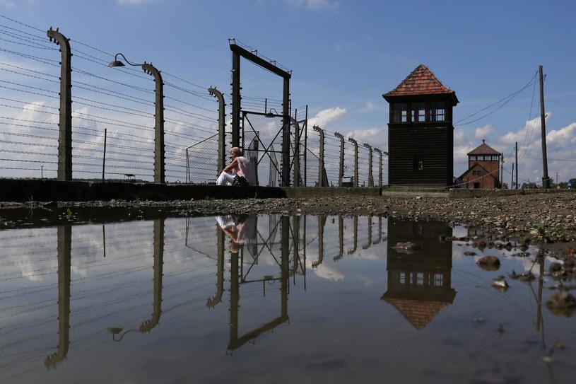Teren byłego obozu koncentracyjnego Auschwitz-Birkenau /Jakub Porzycki /Agencja FORUM