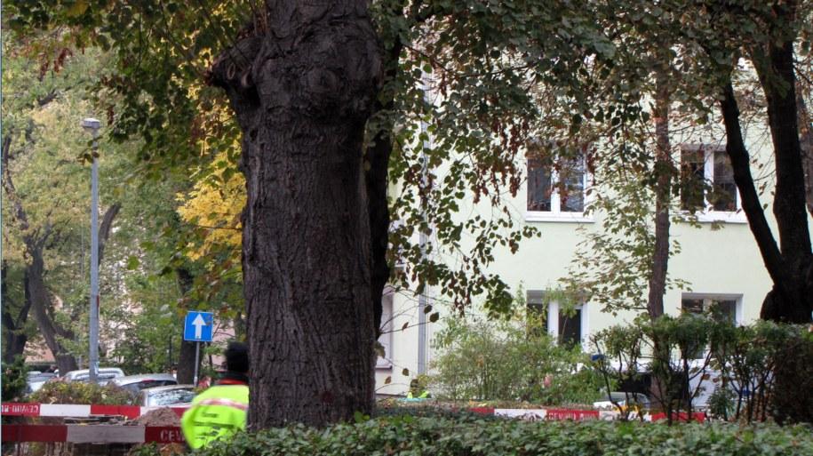 Teren w pobliżu ewakuowanego przedszkola /Kamil Młodawski /RMF FM